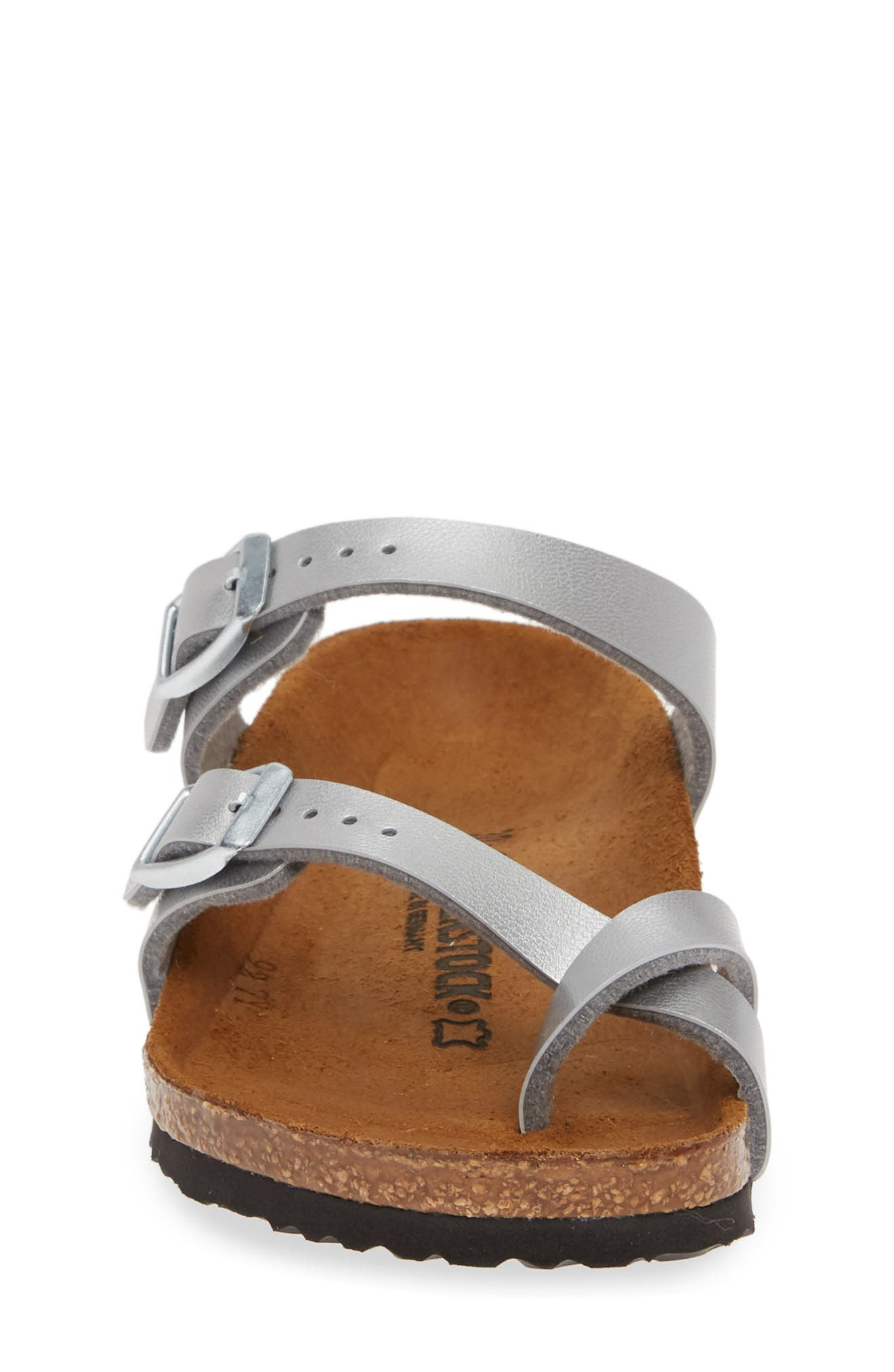 ,                             Mayari Birko-Flor<sup>™</sup> Sandal,                             Alternate thumbnail 4, color,                             SILVER