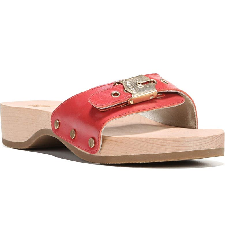 DR. SCHOLL'S Original Collection Sandal, Main, color, RED