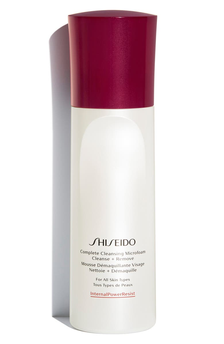 SHISEIDO Complete Cleansing Microfoam, Main, color, NO COLOR