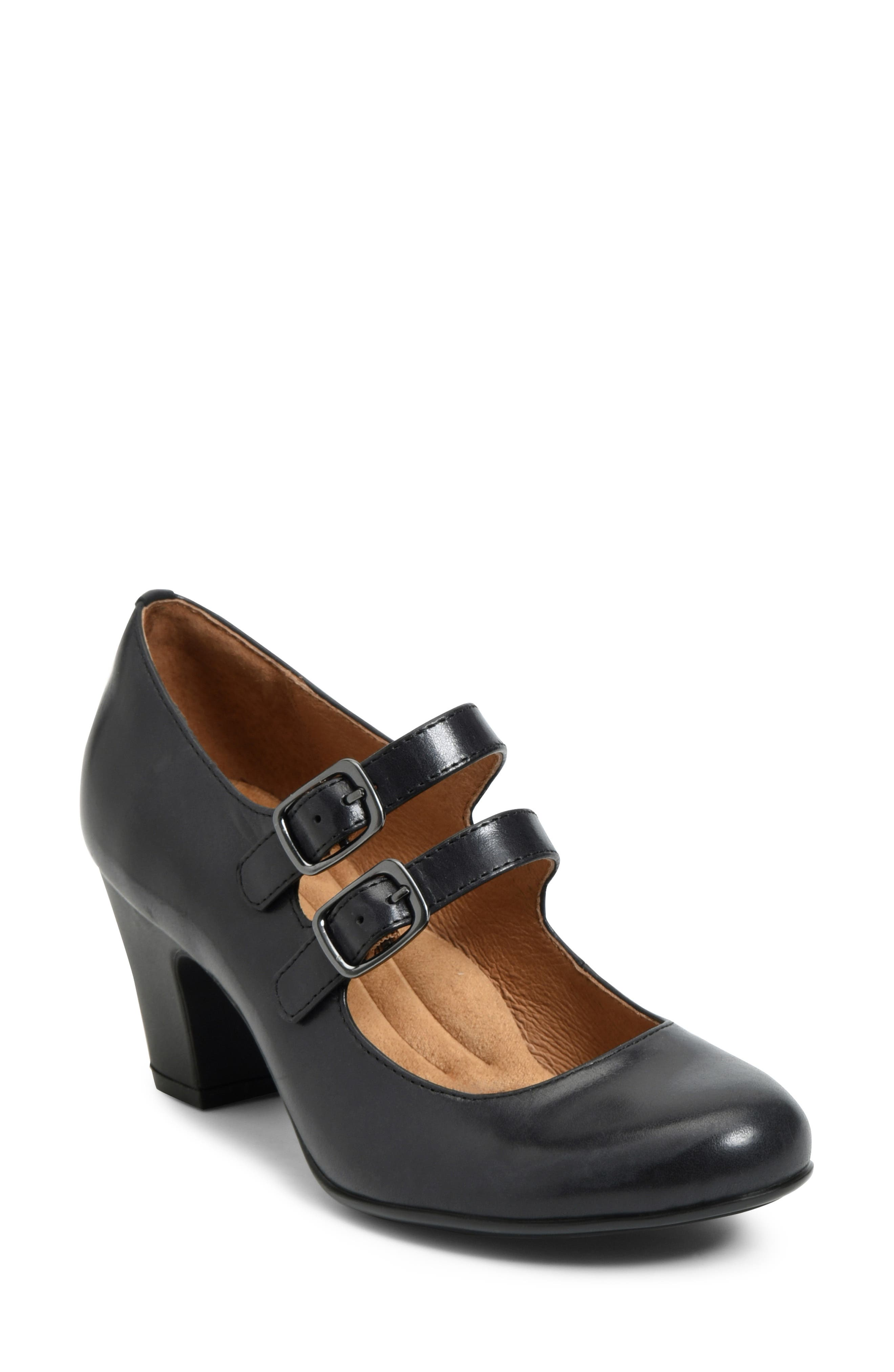 Sofft Maliyah Mary Jane Pump, Black