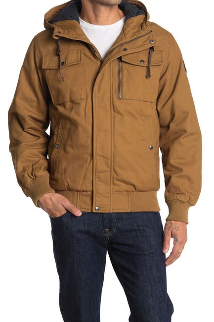 Image of Hawke & Co. Cotton Bomber Jacket