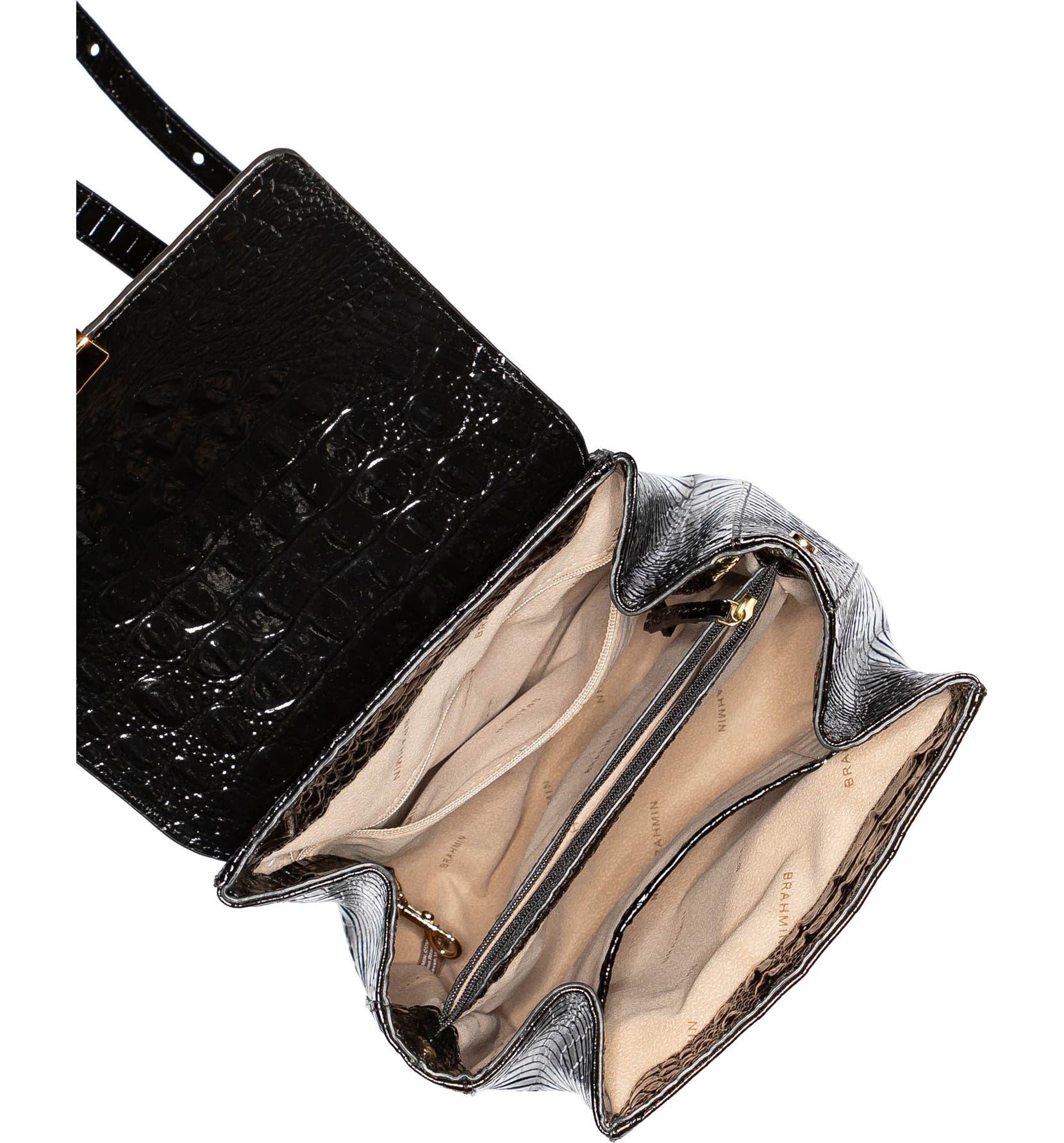 bf9d9797e Brahmin Margo Croc Embossed Leather Backpack | Nordstrom