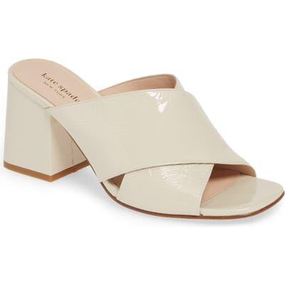 Kate Spade New York Slide Sandal- White