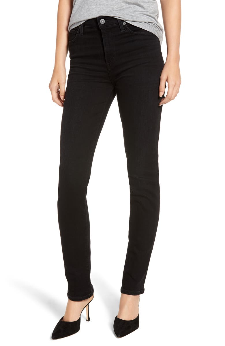CITIZENS OF HUMANITY Sculpt - Harlow High Waist Skinny Jeans, Main, color, 009