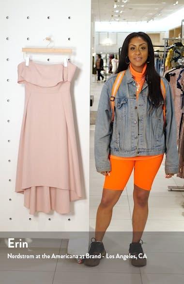Wanda Off the Shoulder Party Dress, sales video thumbnail
