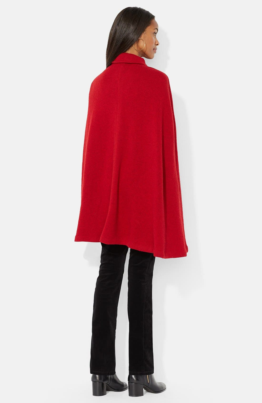 ,                             Sweater Knit Military Cape,                             Alternate thumbnail 2, color,                             603