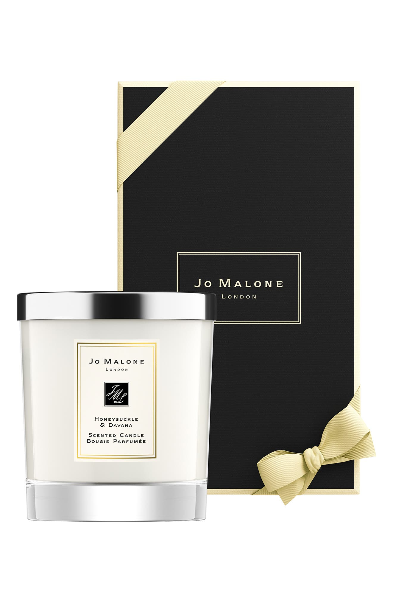 ,                             Honeysuckle & Davana Scented Candle,                             Alternate thumbnail 2, color,                             NO COLOR