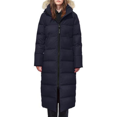 Canada Goose Mystique Fusion Fit Down Parka With Genuine Coyote Fur, P (000-00P) - Blue