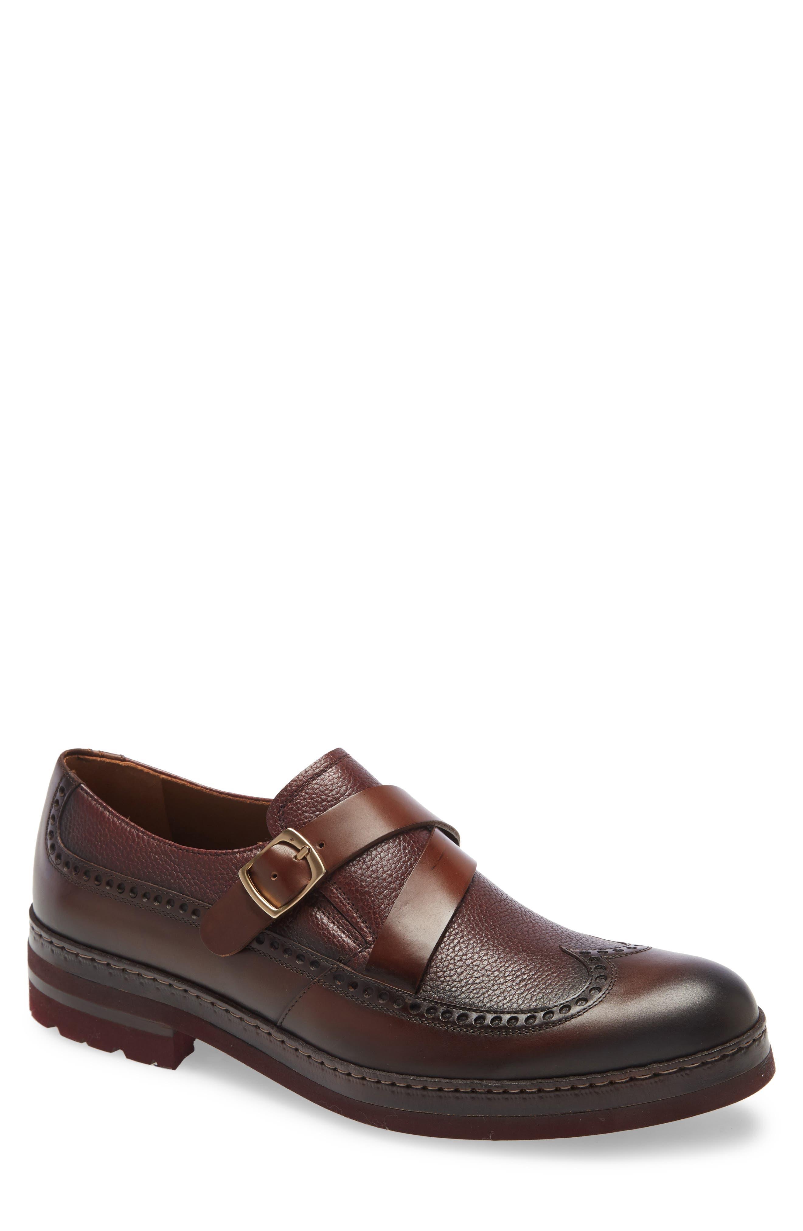 Fusion Monk Strap Shoe