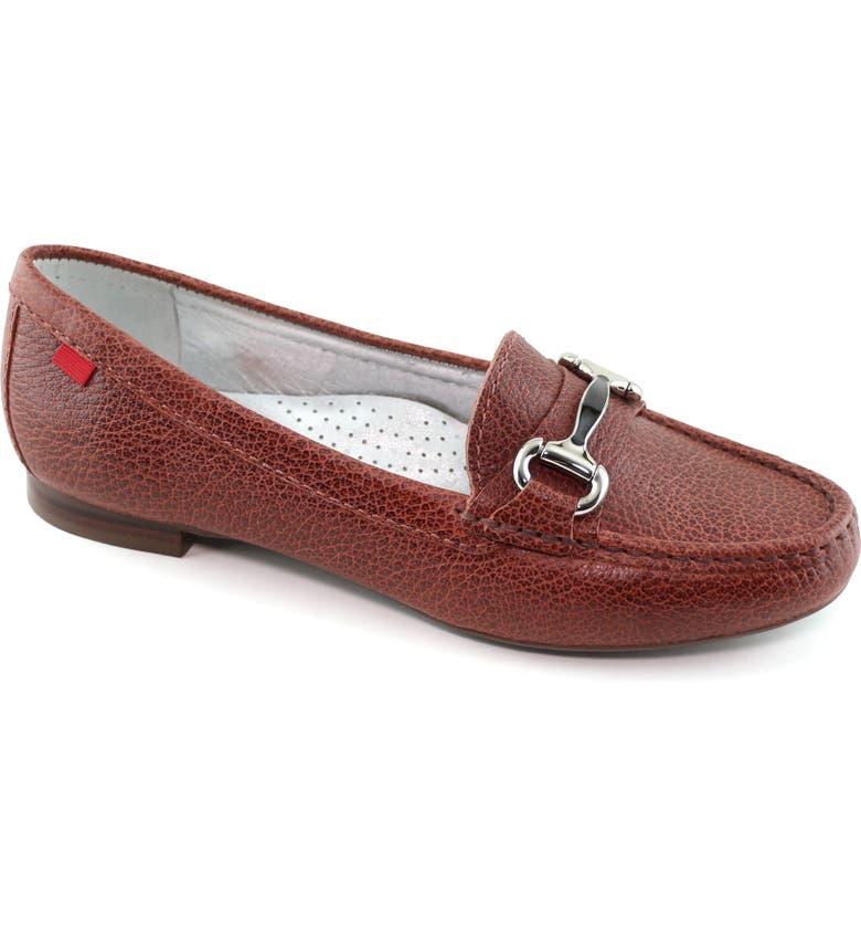 MARC JOSEPH NEW YORK Grand Street Loafer, Main, color, WALNUT GLIMMER LEATHER