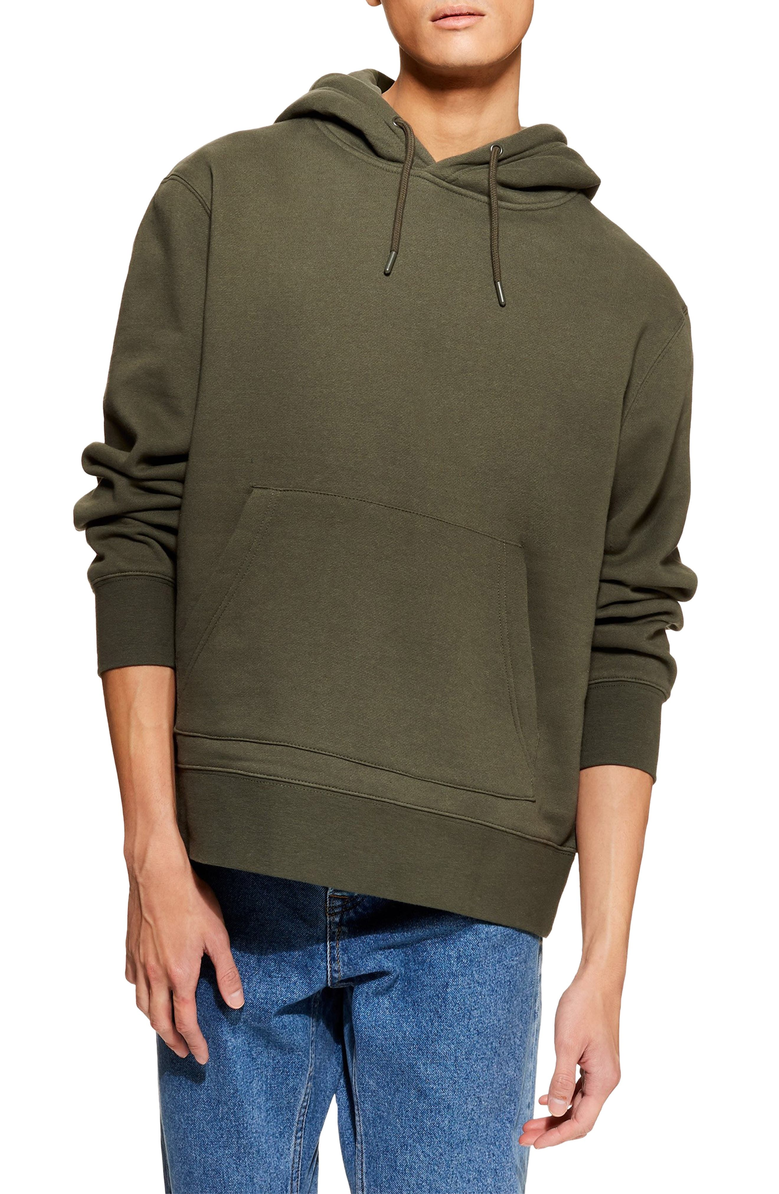 ,                             Hoodie,                             Main thumbnail 1, color,                             OLIVE