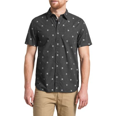 The North Face Baytrail Embroidered Sport Shirt, Black
