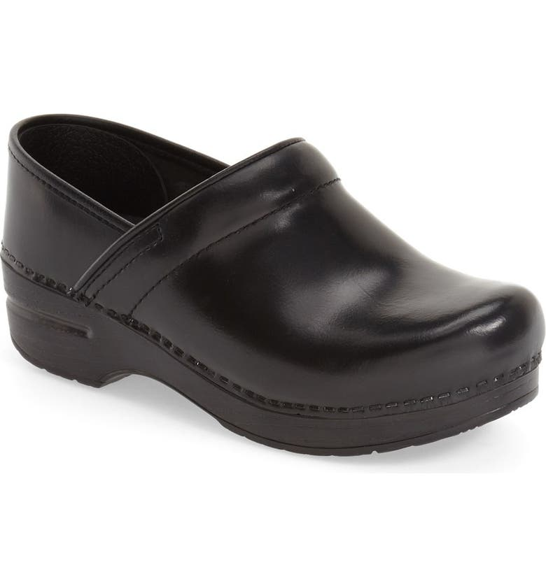 DANSKO 'Professional' Clog, Main, color, BLACK CABRIO