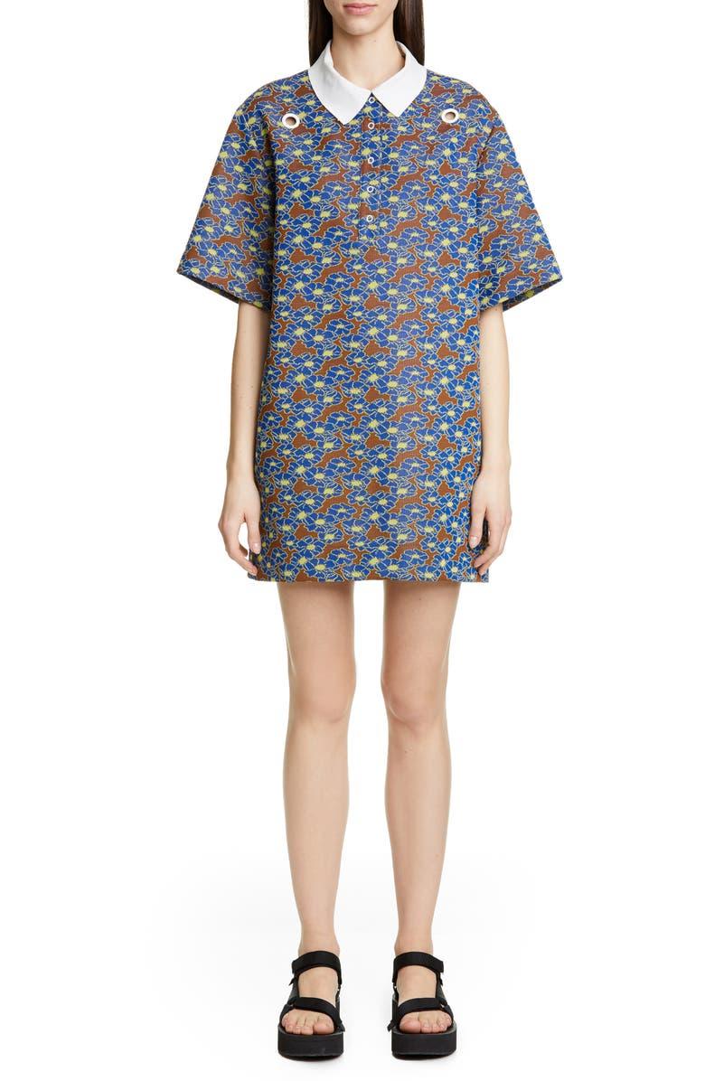 ECKHAUS LATTA Polo Dress, Main, color, 400