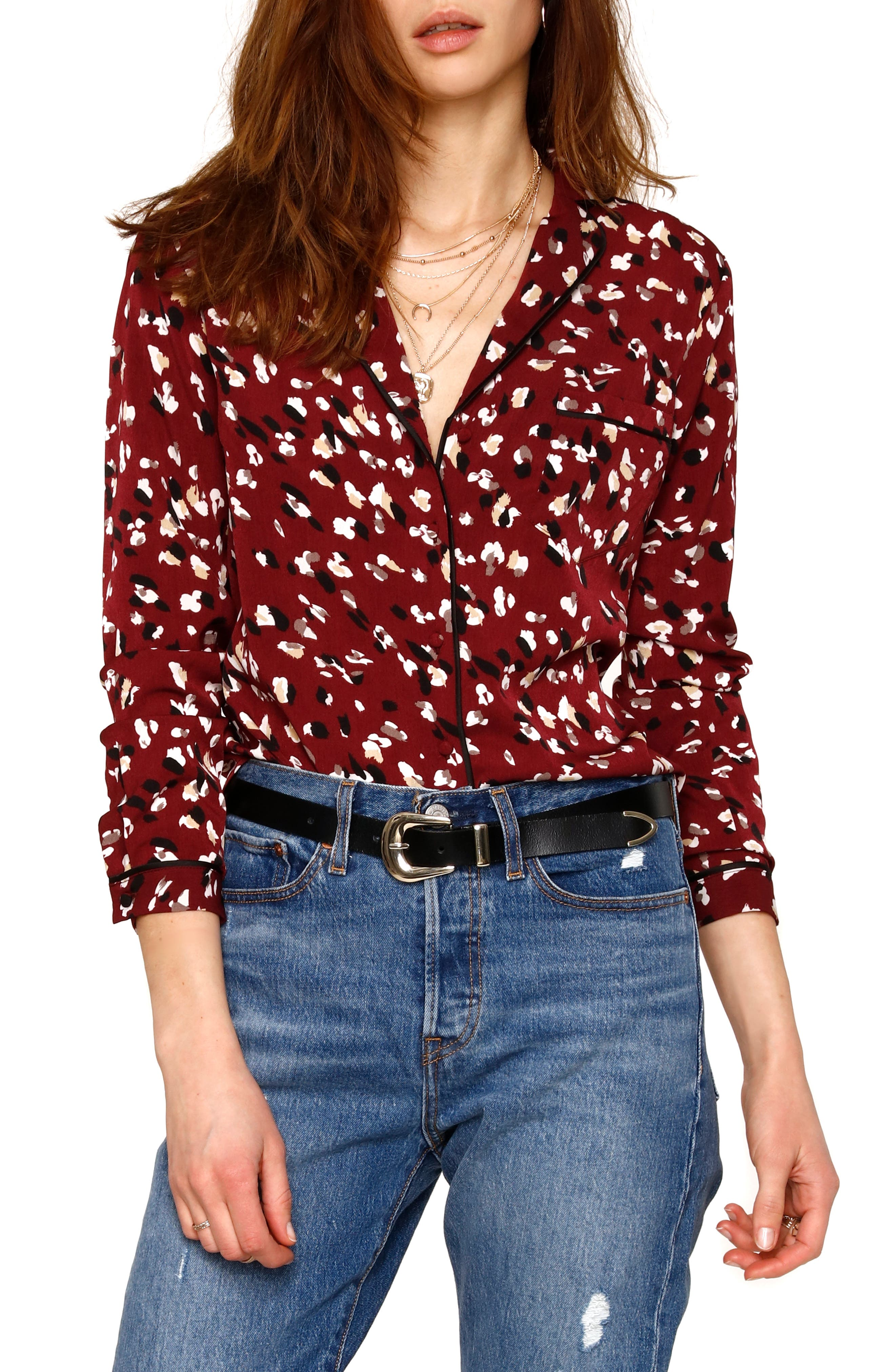 Image of Heartloom Benny Printed Top