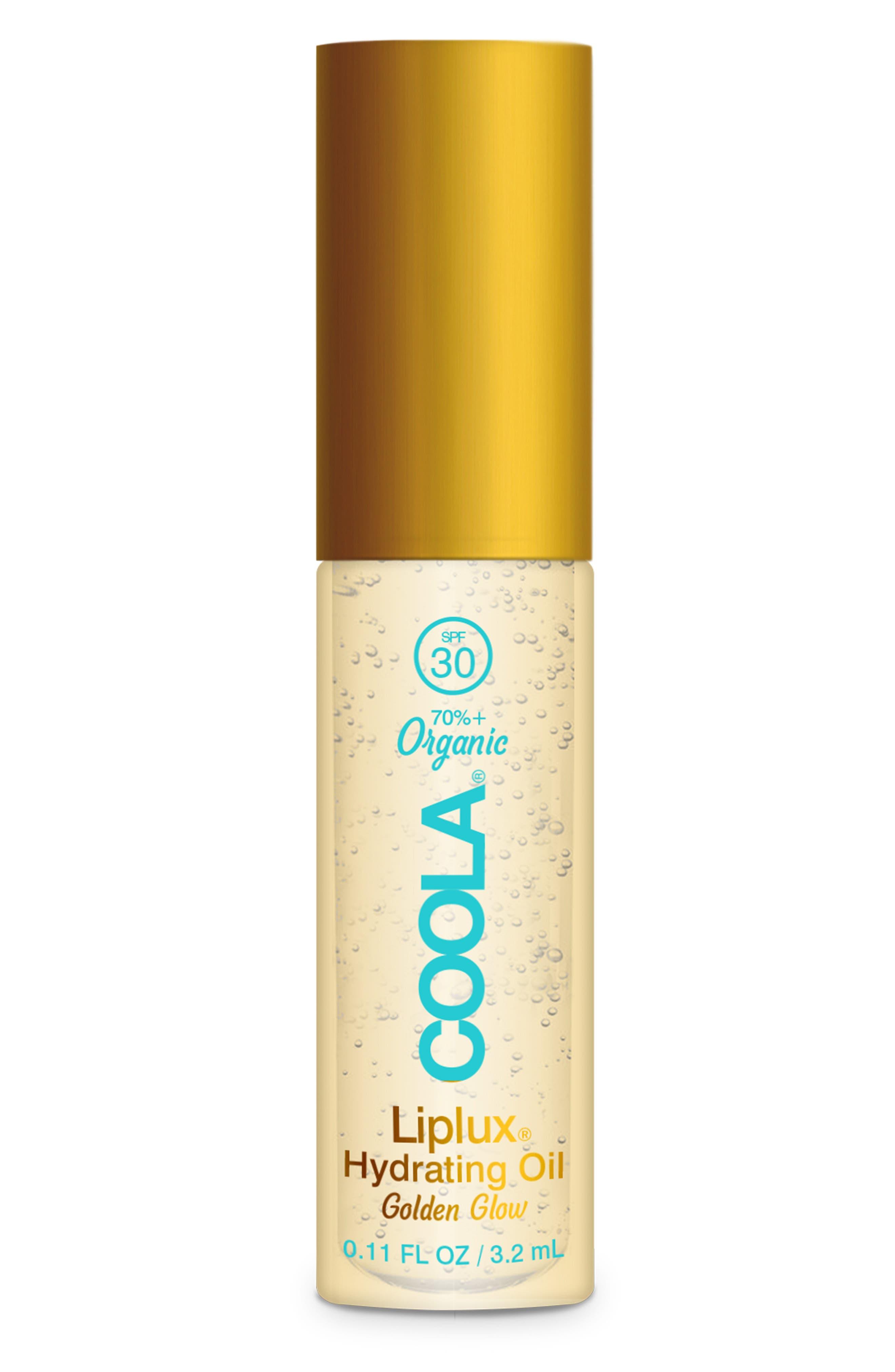 Classic Liplux® Organic Hydrating Lip Oil Sunscreen SPF 30 | Nordstrom