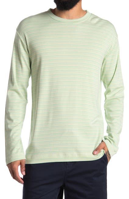 Image of NN07 Men's Kurt 3463 Stripe Long Sleeve T-Shirt