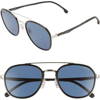 Carrera Eyewear 5m Round Sunglasses - Palladium/ Blue