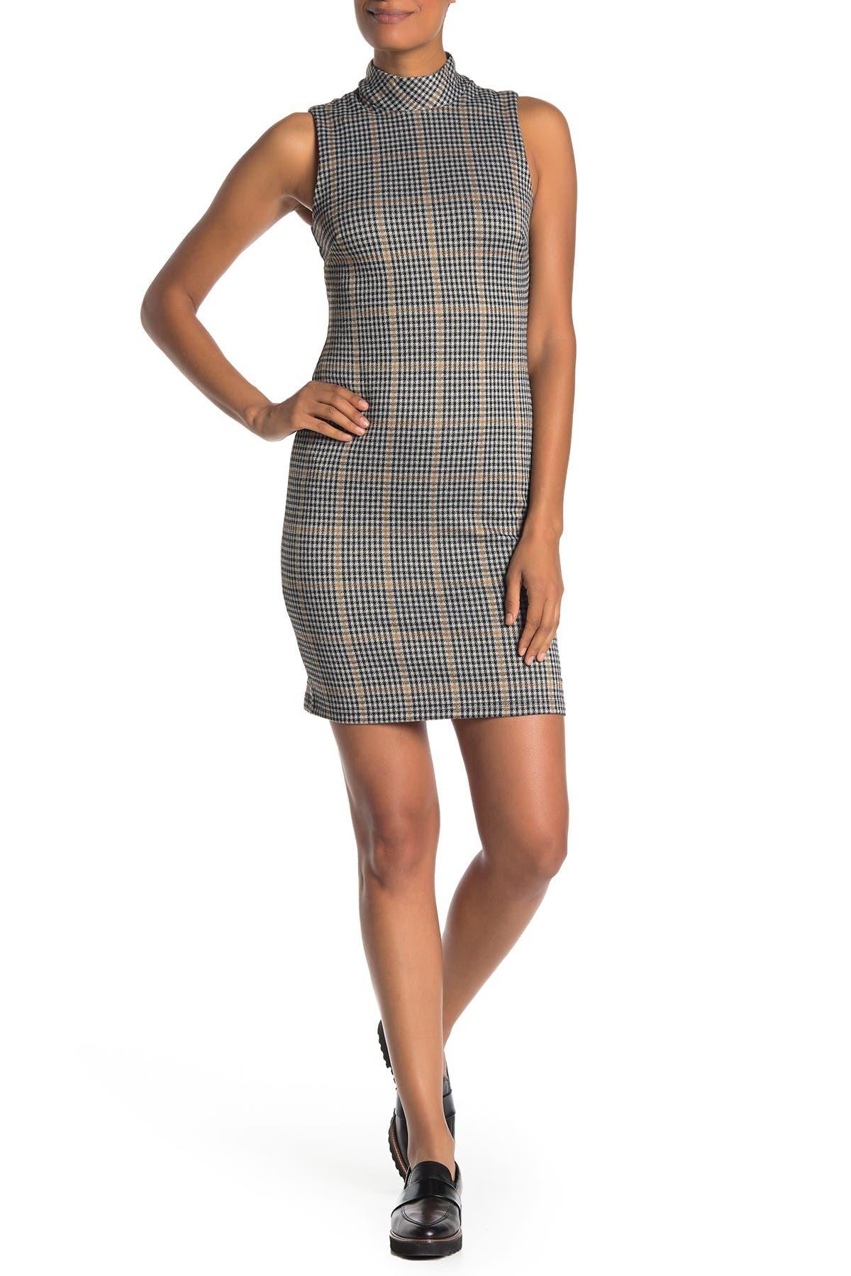 Image of RD Style Menswear Sleeveless Mock Neck Dress