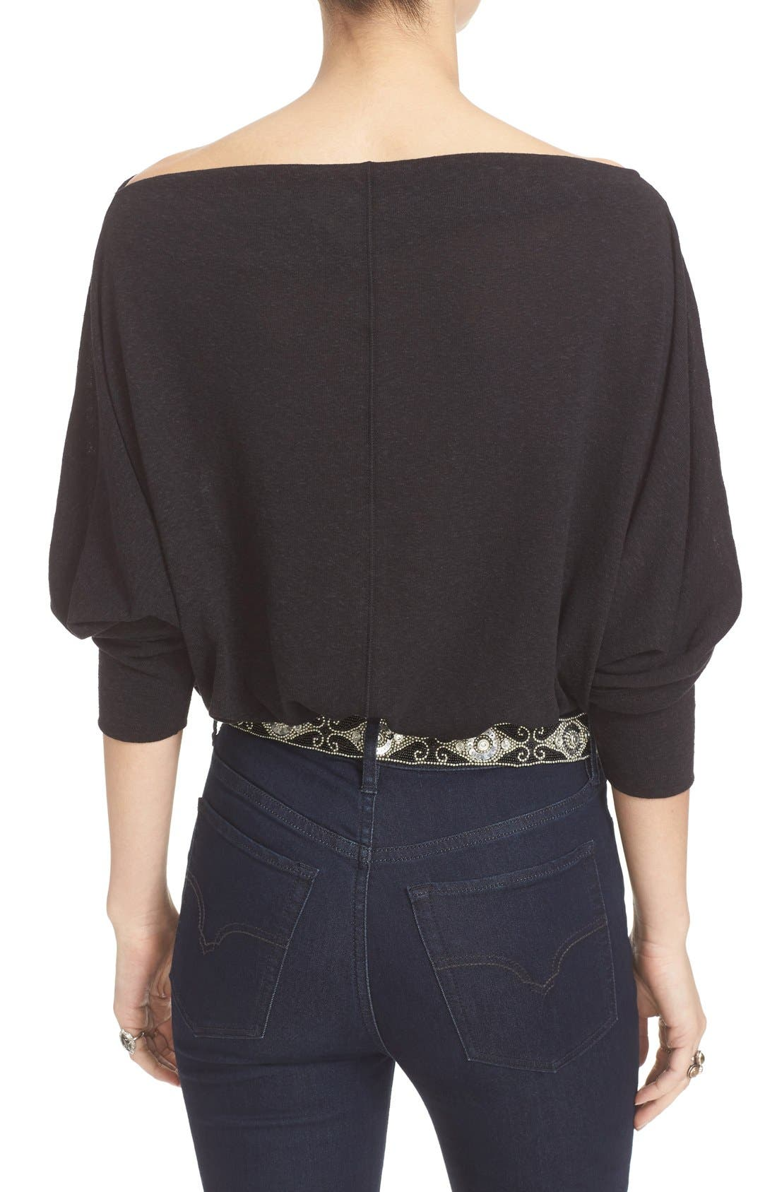 ,                             Valencia Off the Shoulder Pullover,                             Alternate thumbnail 9, color,                             001