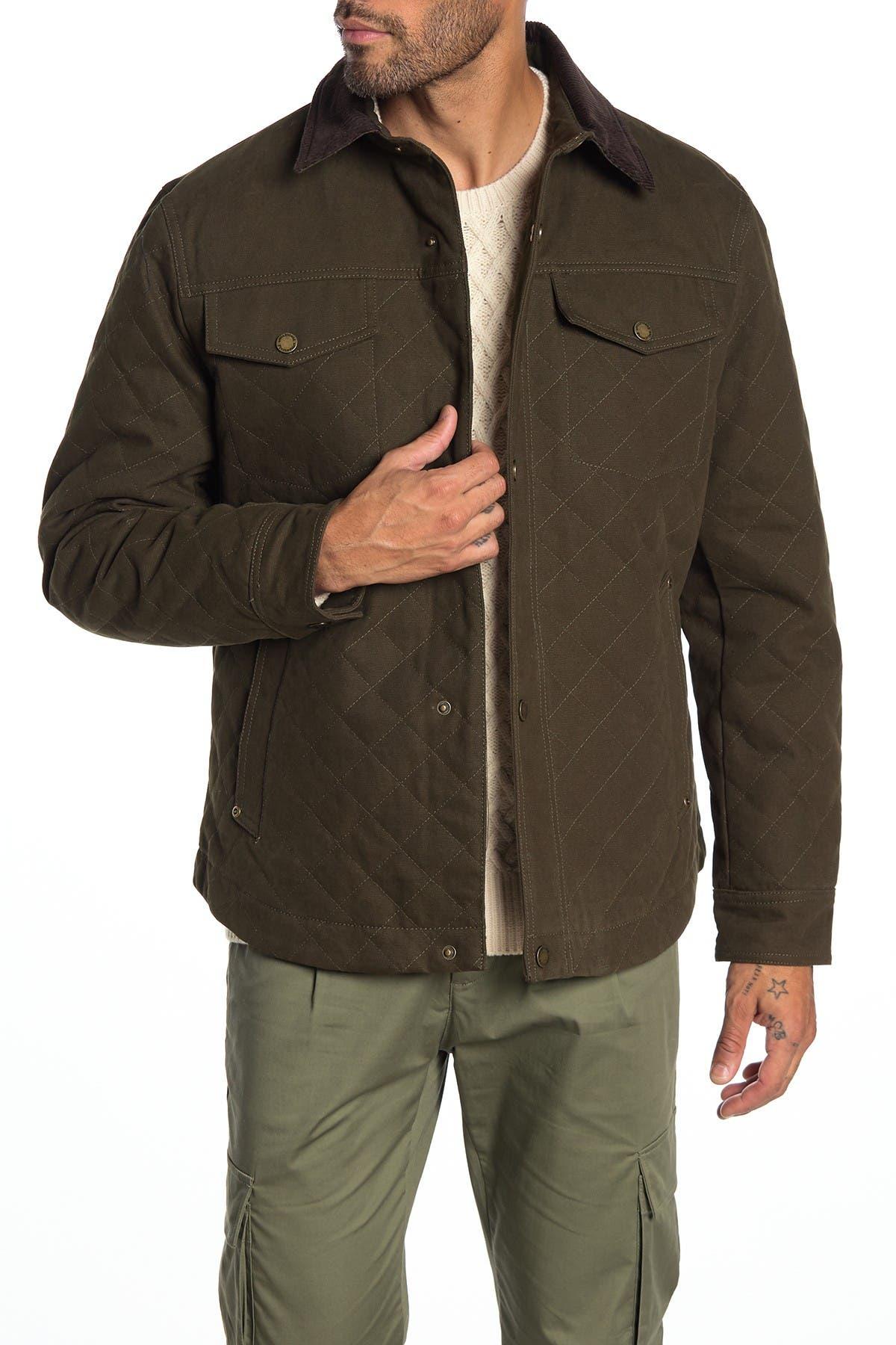 Image of PENDLETON Bannack Quilted Canvas Utility Jacket