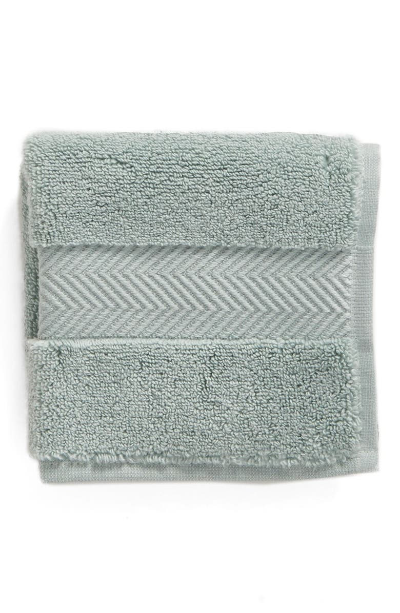 NORDSTROM Hydrocotton Washcloth, Main, color, TEAL MIST