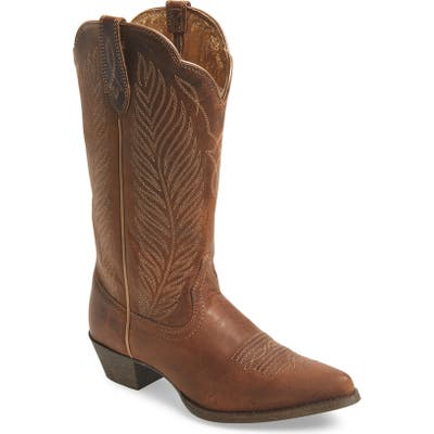 Ariat Round-Up Johanna Western Boot- Brown