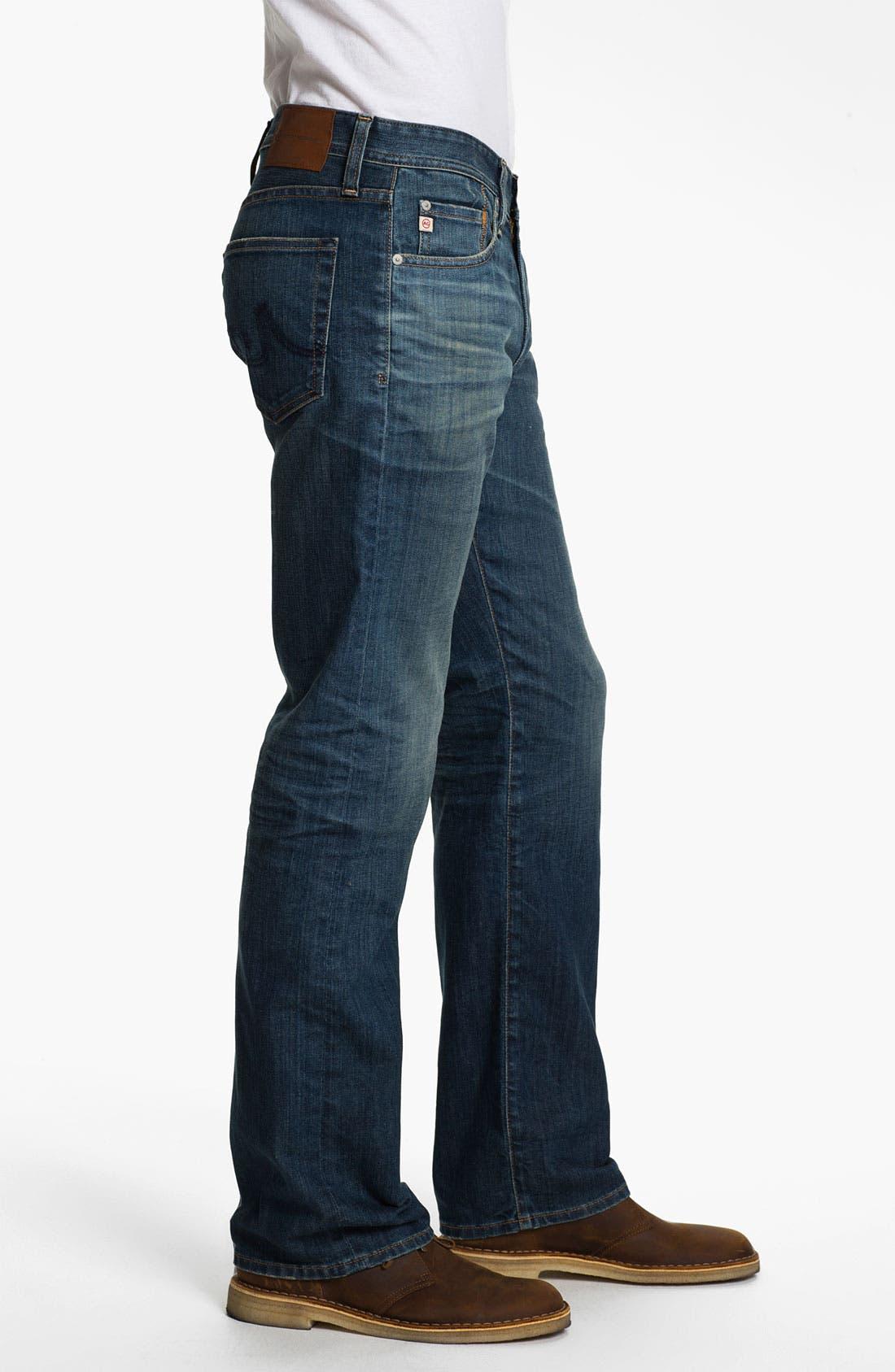 ,                             'Protégé' Straight Leg Jeans,                             Alternate thumbnail 17, color,                             407