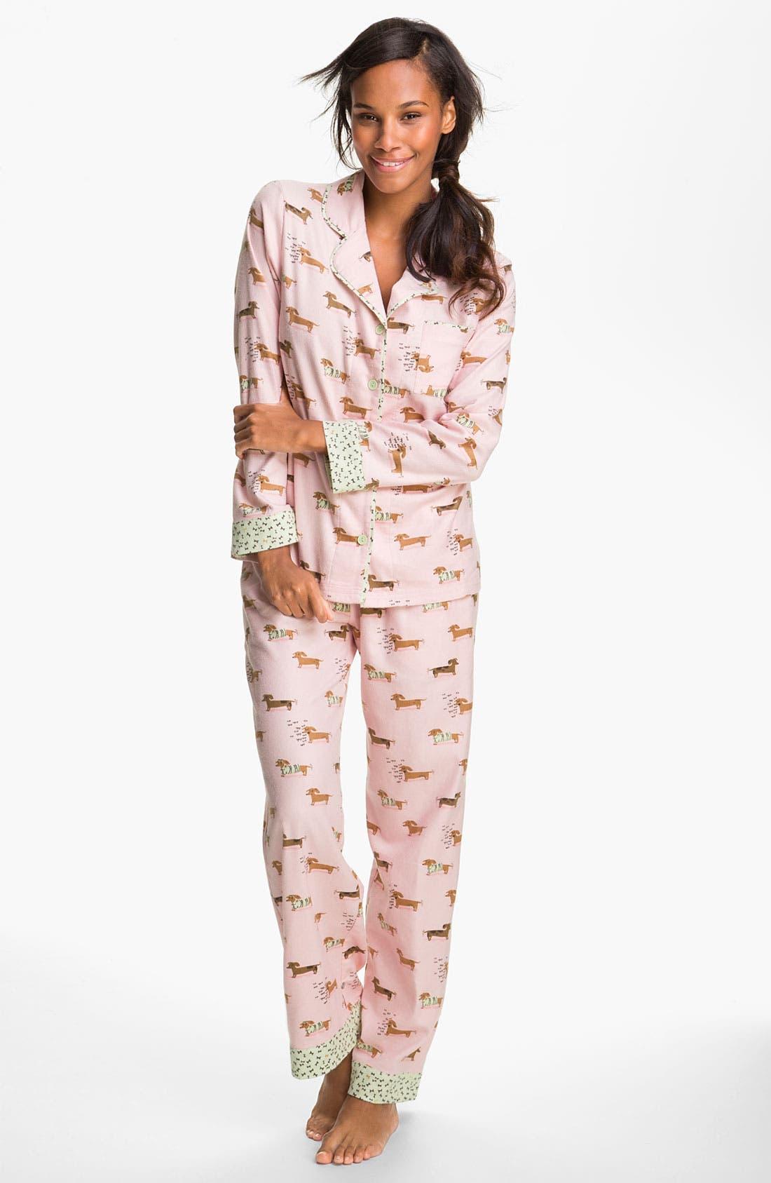 ,                             Flannel Pajamas,                             Main thumbnail 68, color,                             650
