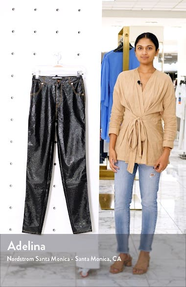 Evelyn Faux Leather Pants, sales video thumbnail