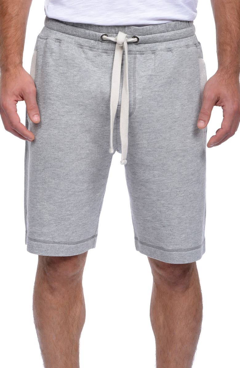 2(X)IST Terry Shorts, Main, color, LIGHT GREY HEATHER