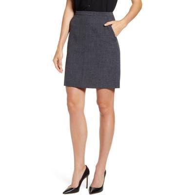 Anne Klein Antonioni Pocket Pencil Skirt, Black