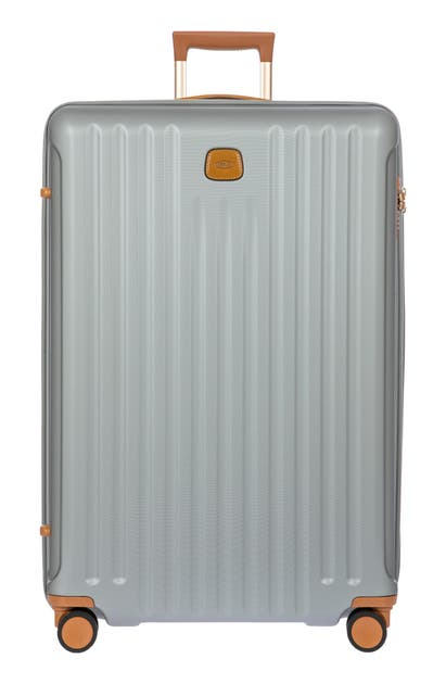 Bric's Capri 2.0 32-inch Expandable Rolling Suitcase In Silver