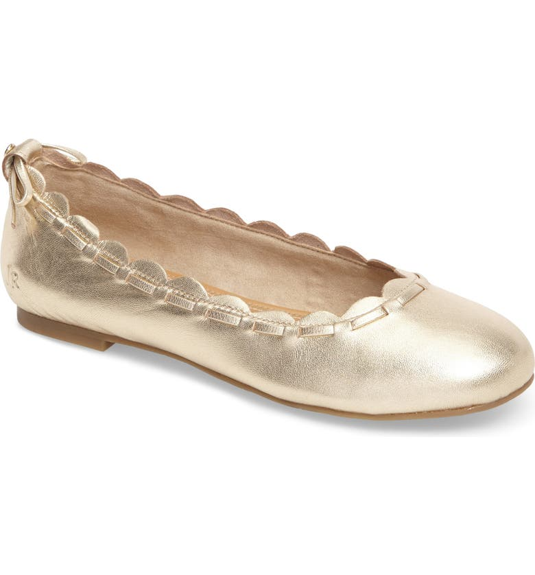 bb2343f82f97a Lucie Scalloped Flat