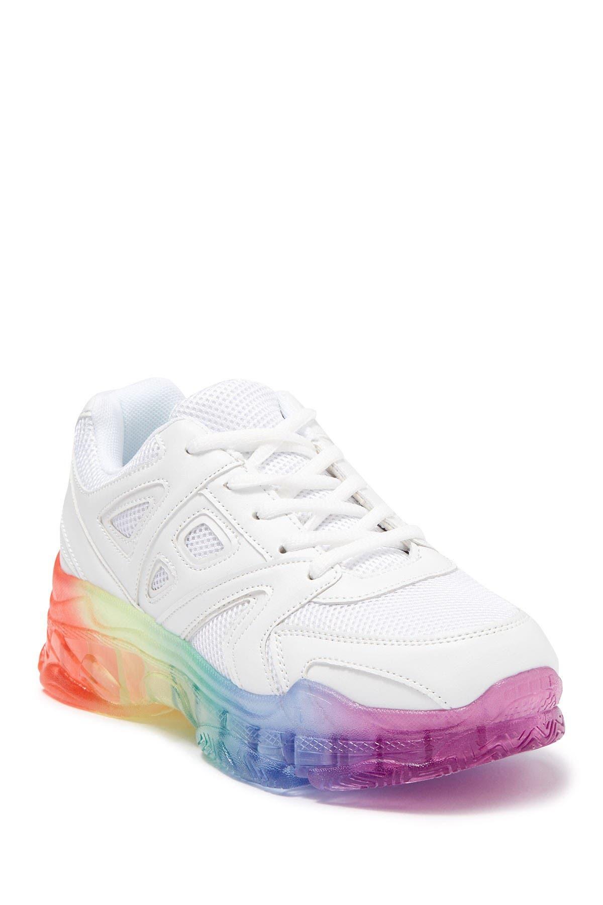 Brisk Chunky Rainbow Sole Sneaker