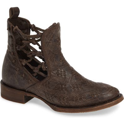 Lane Boots X Patina Vie London Secrets Bootie- Brown