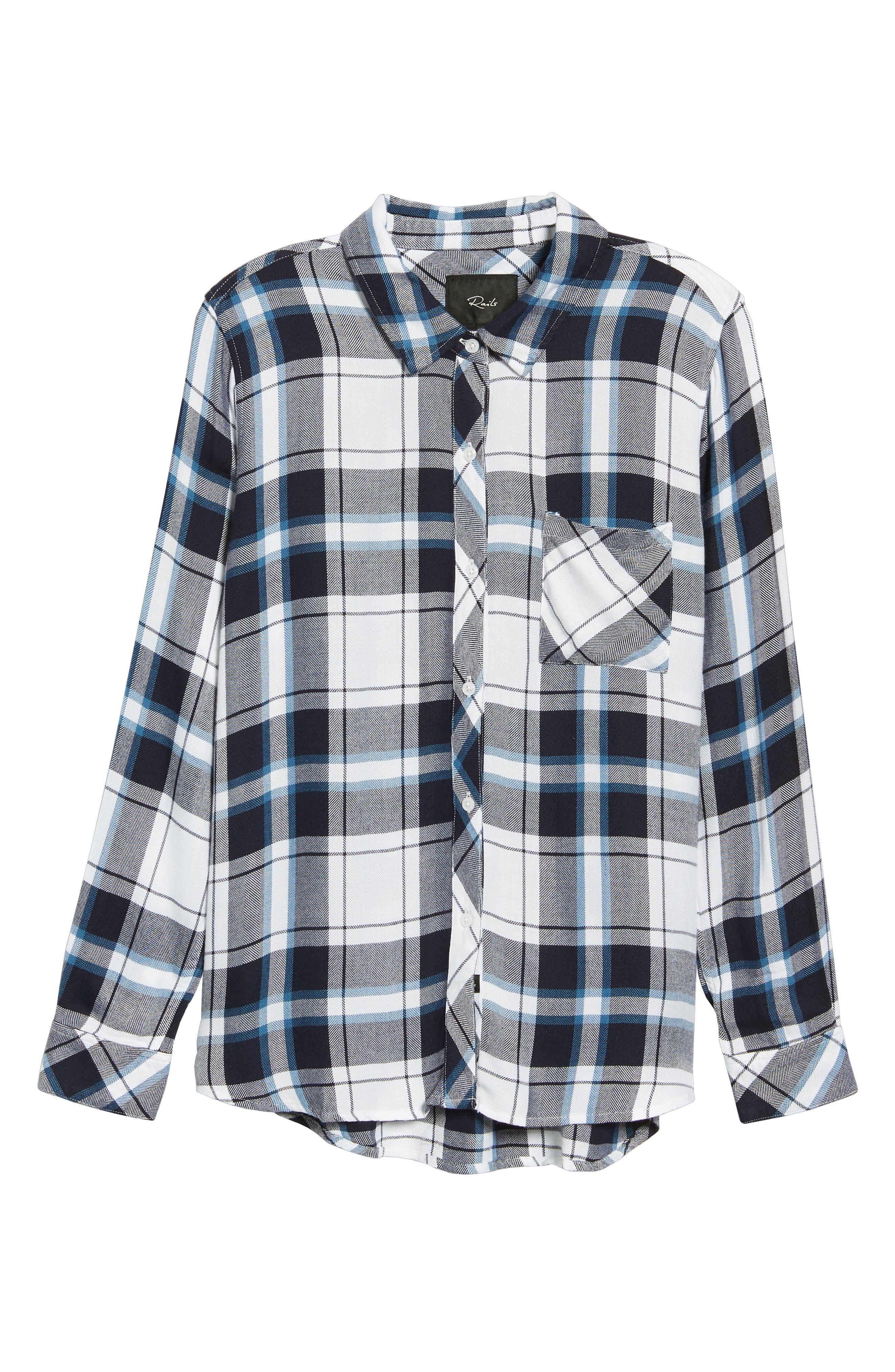 ,                             Hunter Plaid Shirt,                             Alternate thumbnail 286, color,                             169
