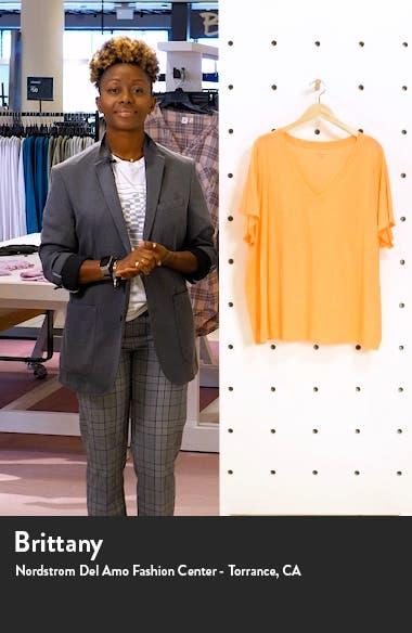 Whisper Cotton V-Neck T-Shirt, sales video thumbnail