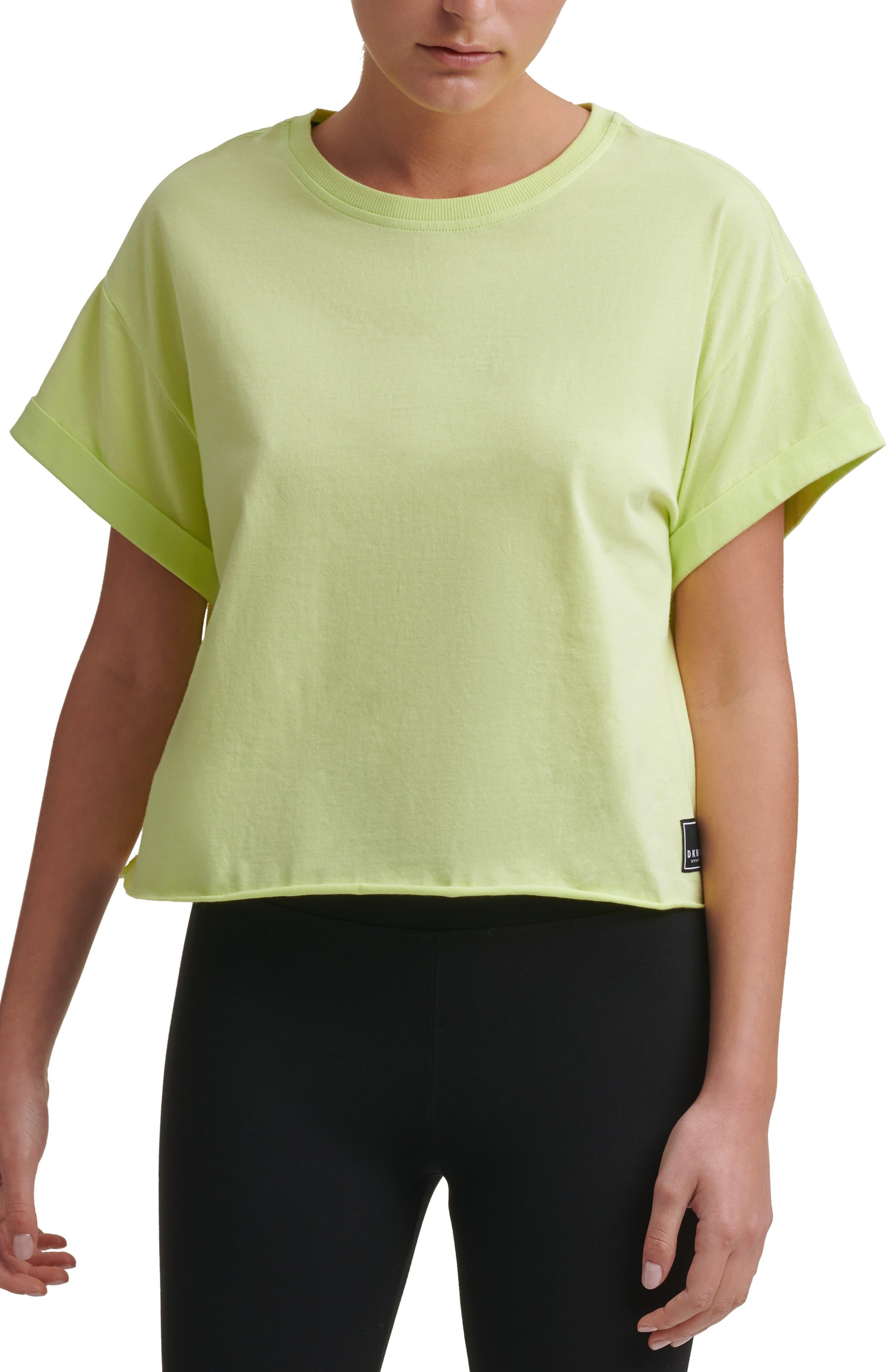 Logo Patch Crop T-Shirt