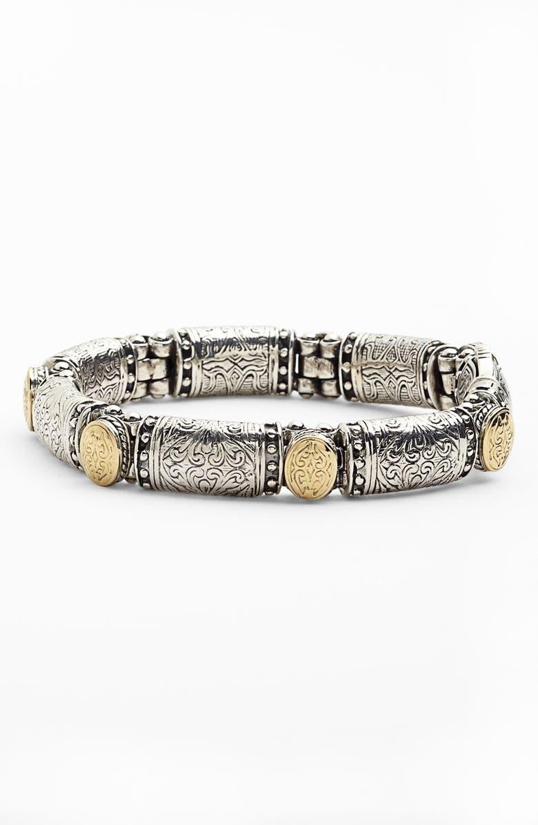 KONSTANTINO 'Classics' Two-Tone Bracelet, Main, color, SILVER/ GOLD