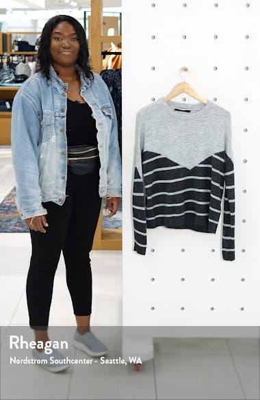 Colorblock Stripe Sweater, sales video thumbnail