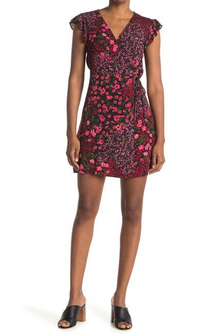 Image of Elodie Floral Cap Sleeve Mini Dress