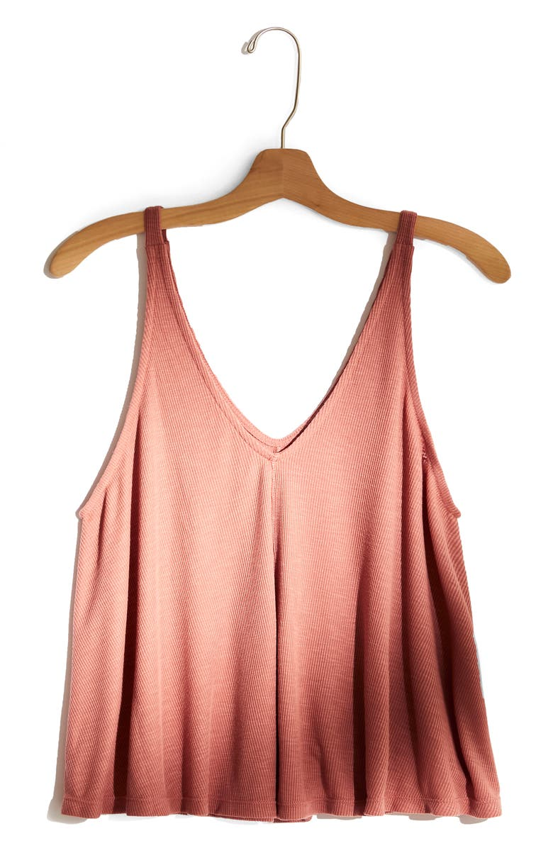 FREE PEOPLE Dani Swing Tank, Main, color, MAUVE