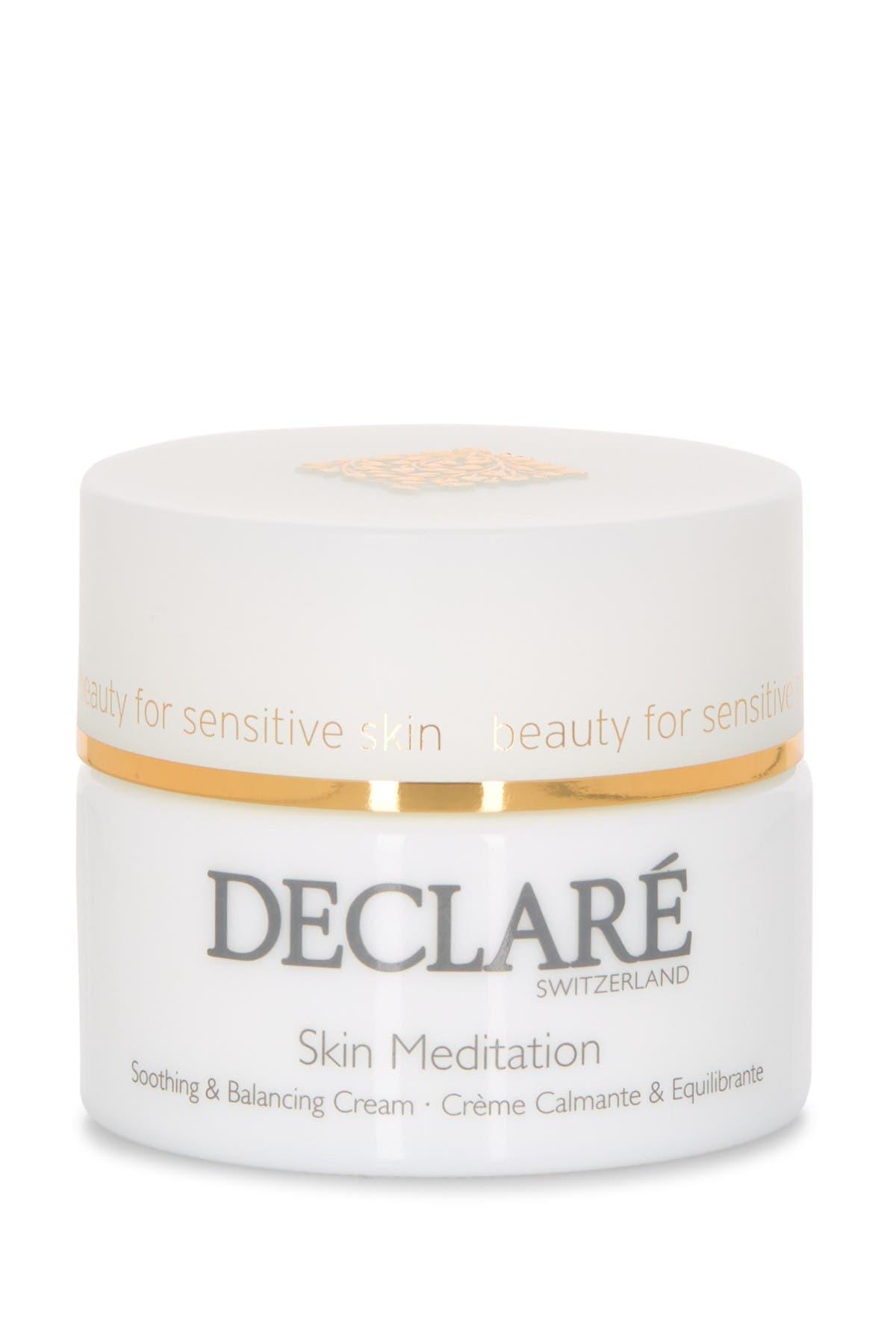 Image of DECLARE Skin Meditation Soothing & Balancing Cream