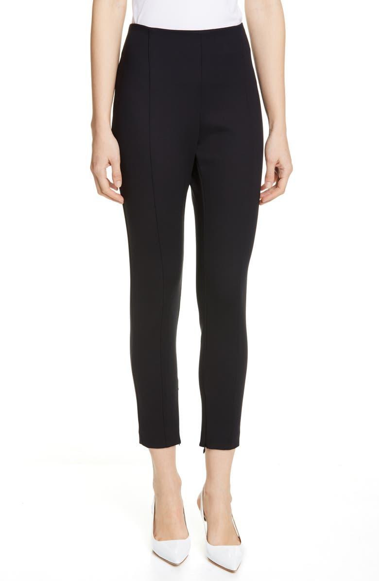JUDITH & CHARLES Alice Crop Pants, Main, color, BLACK