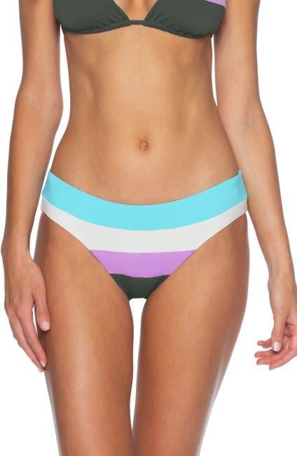 Image of BECCA Circuit Colorblock Bikini Bottoms