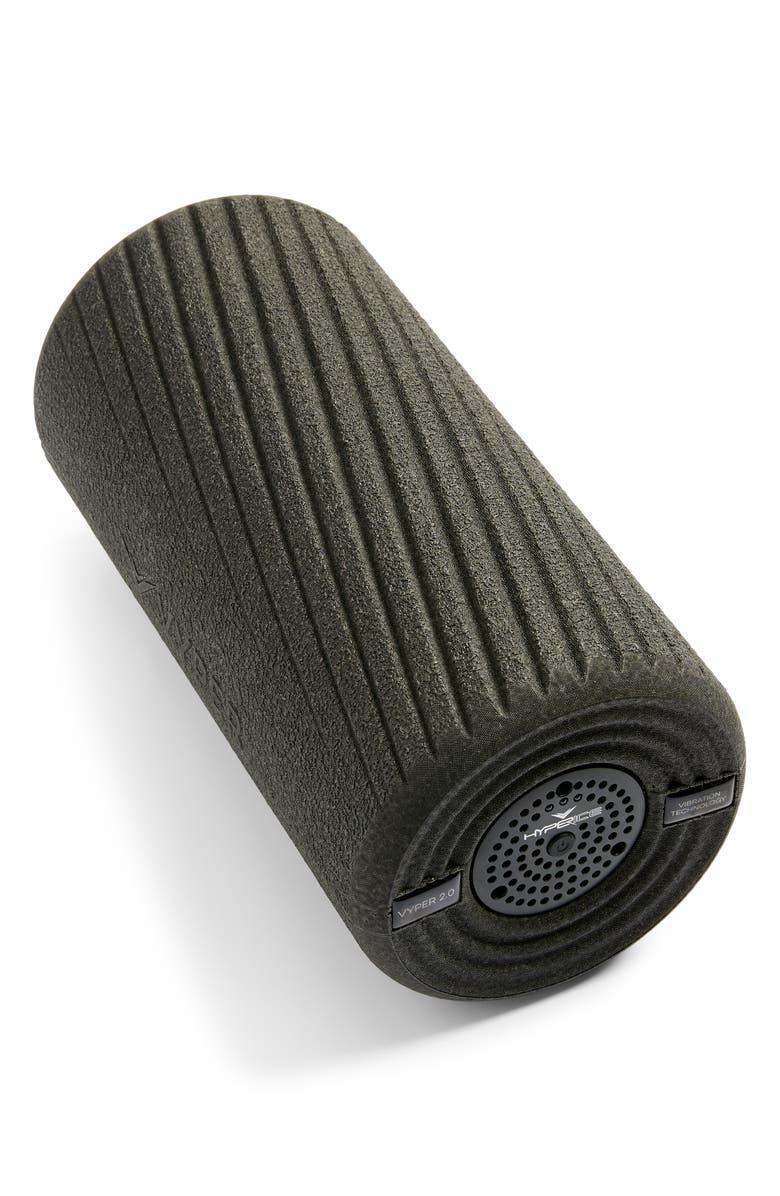 HYPERICE Vper 2.0 Vibrating Fitness Foam Roller, Main, color, BLACK