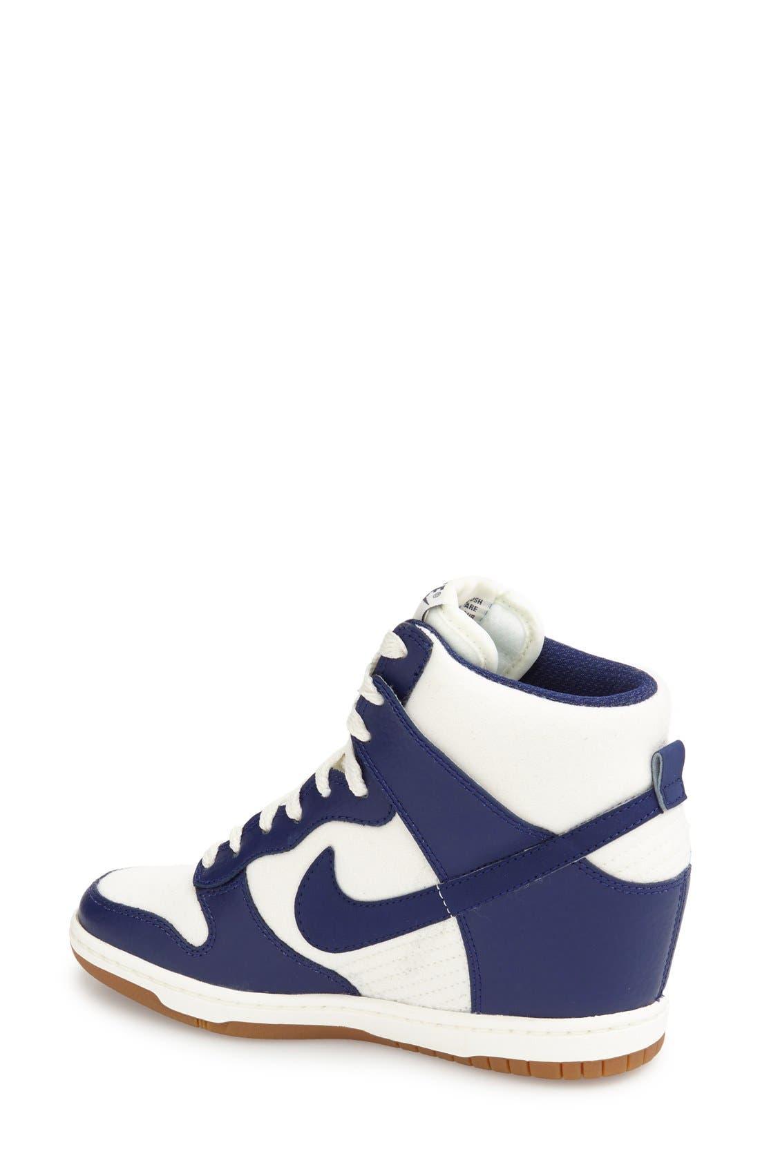 ,                             'Dunk Sky Hi - Essential' Wedge Sneaker,                             Alternate thumbnail 52, color,                             104
