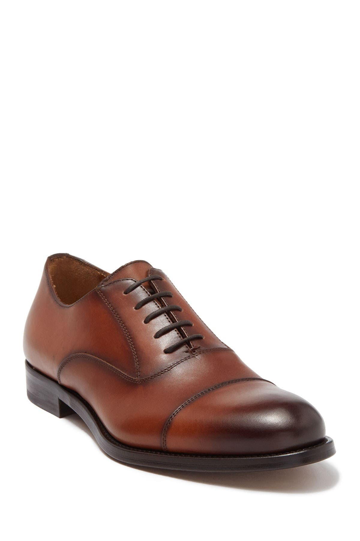 Image of Antonio Maurizi Burnished Leather Cap Toe Oxford