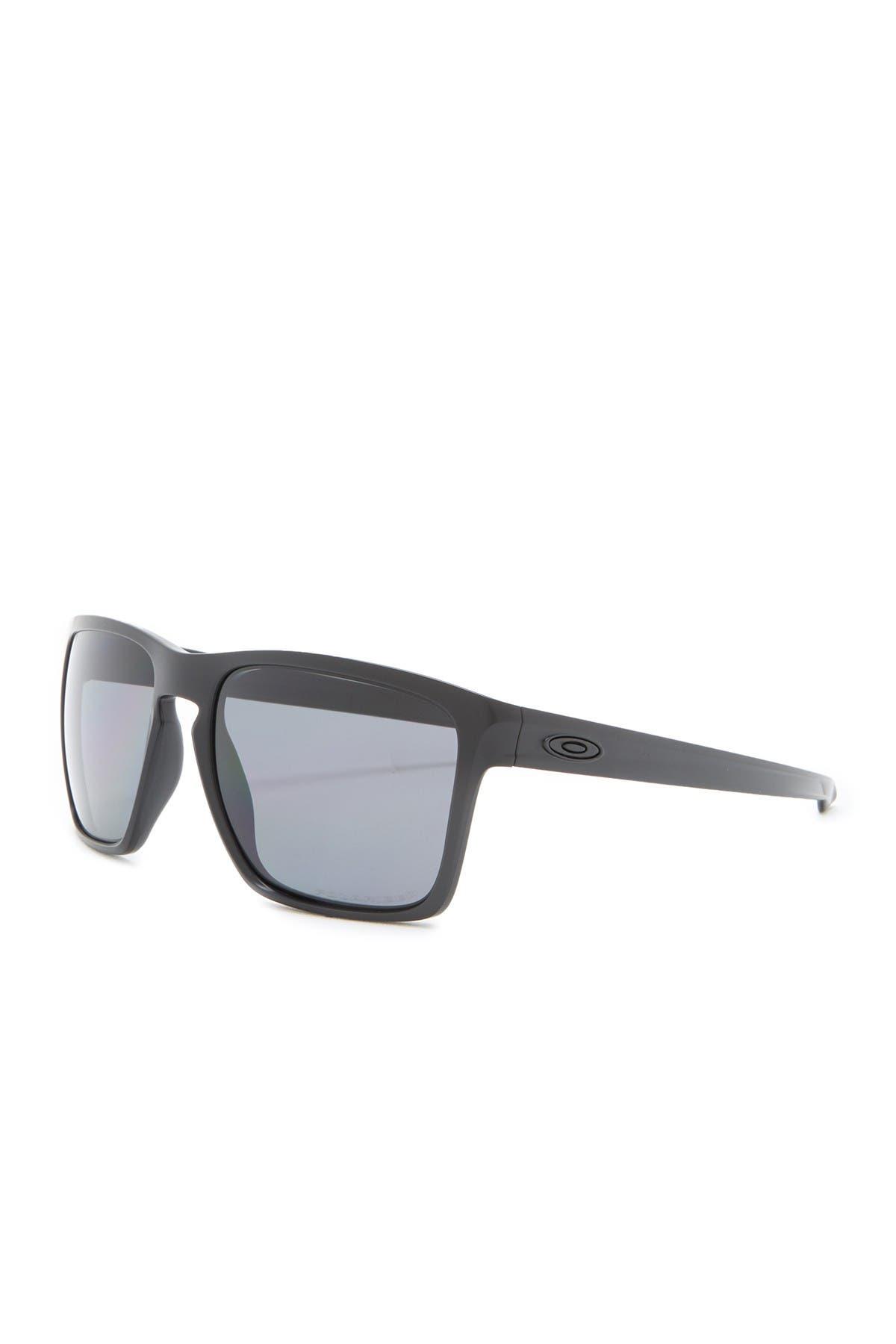 Image of Oakley 57mm Silver XL Square Sunglasses